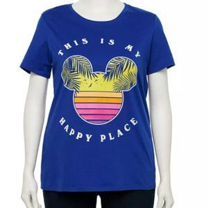 This Is My Happy Place Disney Tee 2X